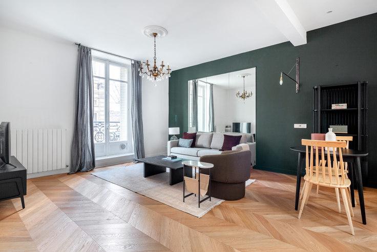1 bedroom furnished apartment in Avenue de Friedland 56, Arc de Triomphe, Paris, photo 1