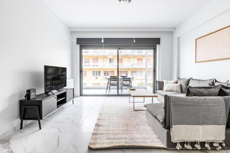 2 bedroom furnished apartment in Tritonos II 963, Palaio Faliro, Athens, photo 1
