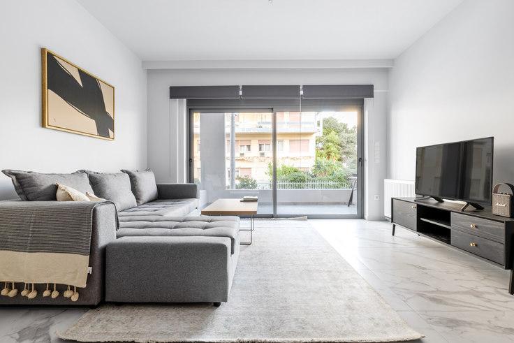 2 bedroom furnished apartment in Tritonos III 964, Palaio Faliro, Athens, photo 1