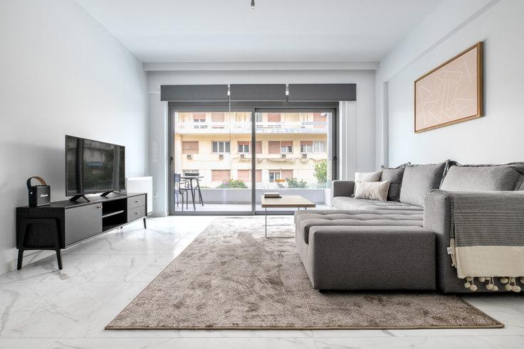 2 bedroom furnished apartment in Tritonos IV 965, Palaio Faliro, Athens, photo 1