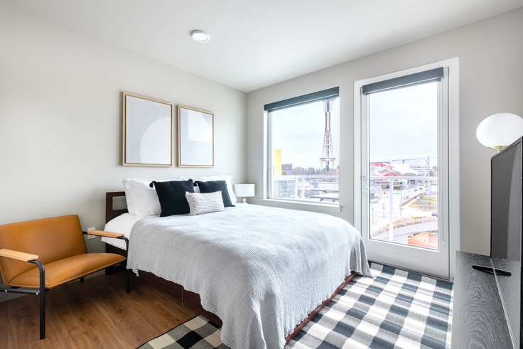 Studio furnished apartment in Clark, 408 Aurora Ave N 74, South Lake Union, Seattle, photo 1