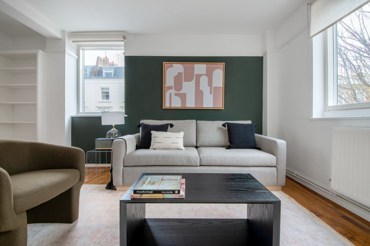 2 bedroom furnished apartment in Sussex St 39, Pimlico, London, photo 1
