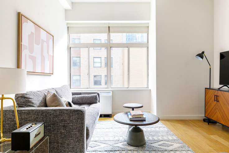 Studio furnished apartment in 90 Washington St 544, Financial District, New York, photo 1