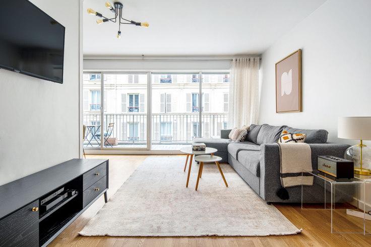 Studio furnished apartment in Rue Duvivier 59, Invalides, Paris, photo 1