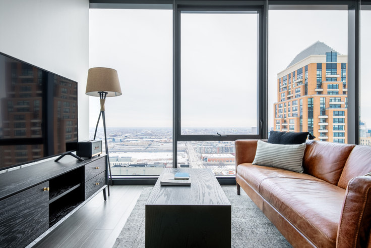 Studio furnished apartment in NEMA, 1210 S Indiana Ave 349, South Loop, Chicago, photo 1