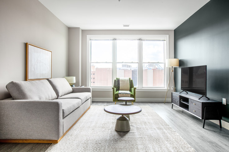 2 bedroom furnished apartment in Park Kennedy, 1901 C St SE 244, Capitol Hill, Washington D.C., photo 1