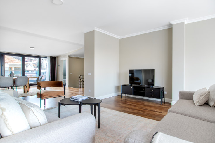 3 bedroom furnished apartment in Yeni Defne - 612 612, Beşiktaş, Istanbul, photo 1