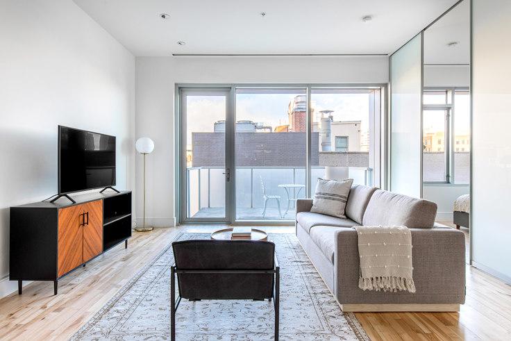 1 bedroom furnished apartment in SugarCube Building, 1555 Blake St 6, LoDo, Denver, photo 1