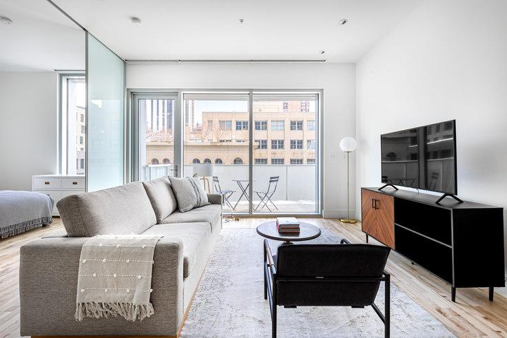 1 bedroom furnished apartment in SugarCube Building, 1555 Blake St 7, LoDo, Denver, photo 1