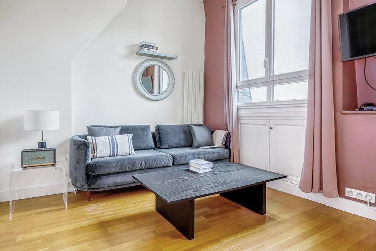 Studio furnished apartment in Avenue de Messine 63, Haussman - Saint Lazare, Paris, photo 1