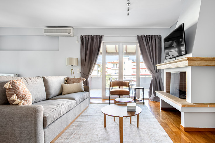 3 bedroom furnished apartment in Simis 971, Melissia, Athens, photo 1