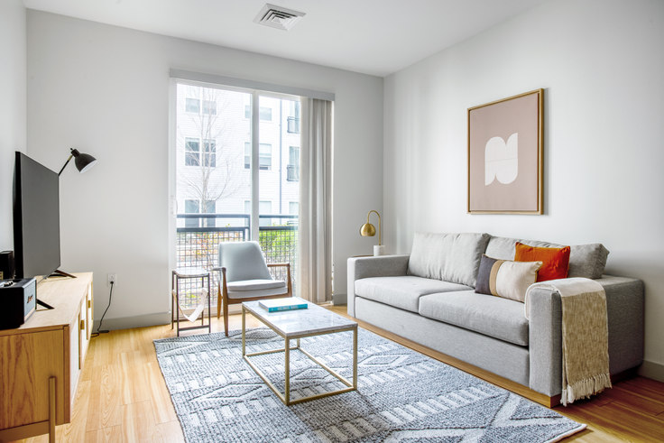 1 bedroom furnished apartment in West Square, 320 D St 347, South Boston, Boston, photo 1