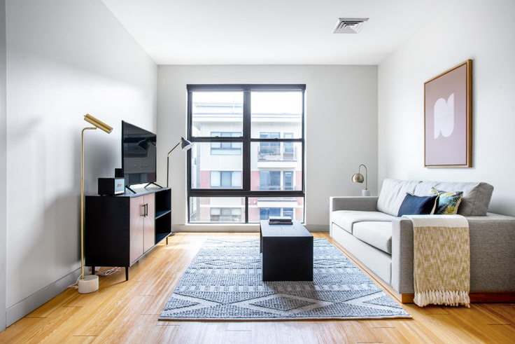 1 bedroom furnished apartment in West Square, 320 D St 349, South Boston, Boston, photo 1