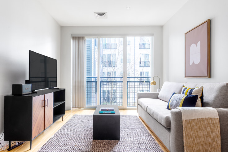 Studio furnished apartment in West Square, 320 D St 350, South Boston, Boston, photo 1