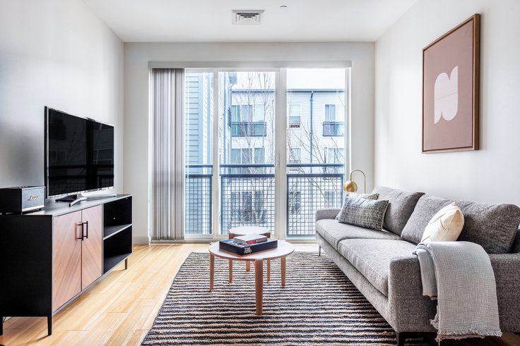 Studio furnished apartment in West Square, 320 D St 351, South Boston, Boston, photo 1