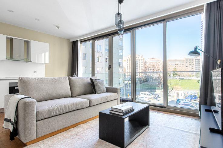 1 bedroom furnished apartment in Gayrettepe53 - 613 613, Gayrettepe, Istanbul, photo 1