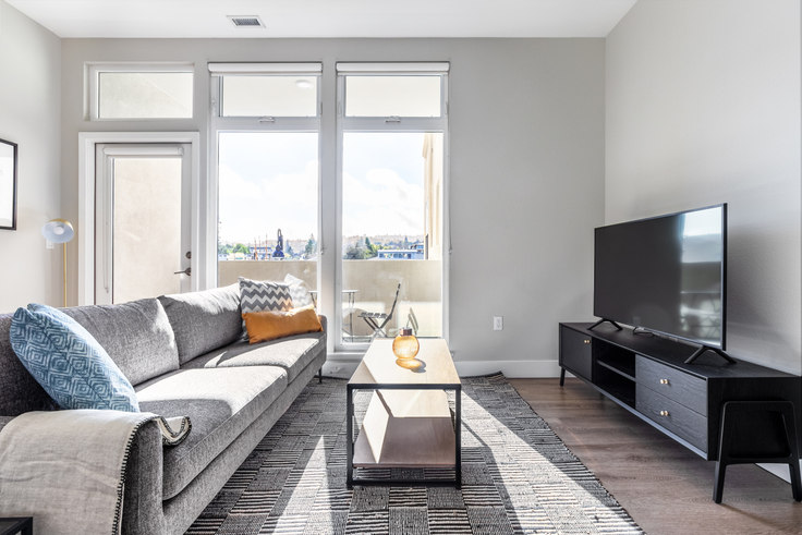 2 bedroom furnished apartment in Trestle Apartments 3, 441 El Camino Real 440, San Carlos, San Francisco Bay Area, photo 1