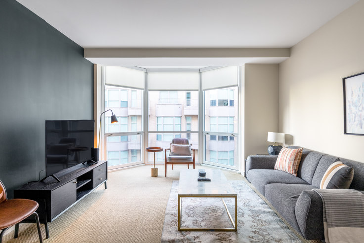 2 bedroom furnished apartment in The Lansburgh, 425 8th St NW 245, Penn Quarter, Washington D.C., photo 1