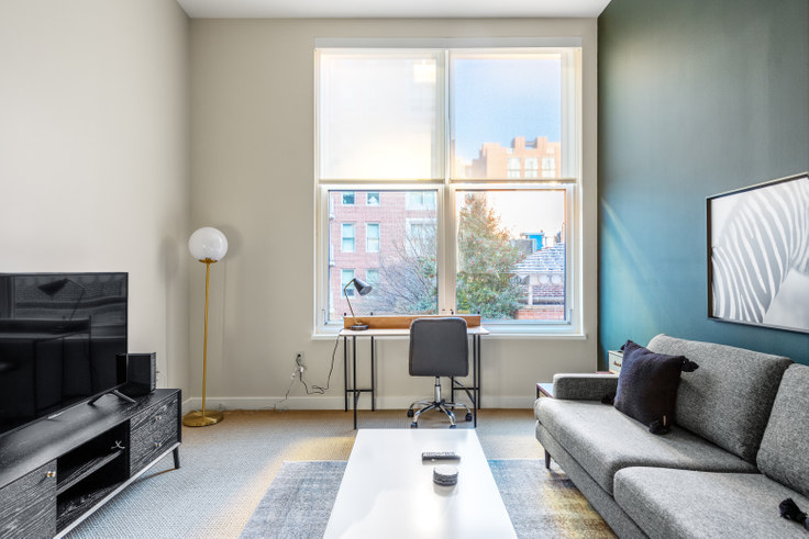 1 bedroom furnished apartment in The Lansburgh, 425 8th St NW 246, Penn Quarter, Washington D.C., photo 1