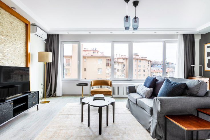 2 bedroom furnished apartment in Levazım Sitesi - 614 614, Levazım, Istanbul, photo 1