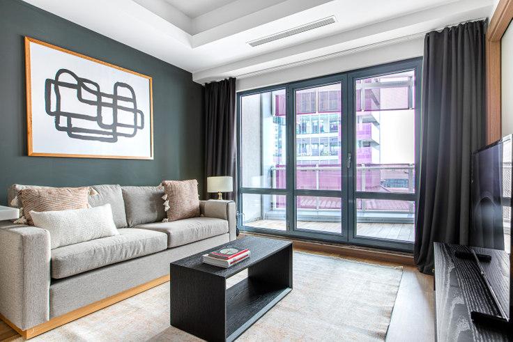 1 bedroom furnished apartment in Maslak 1453 - 616 616, Maslak, Istanbul, photo 1