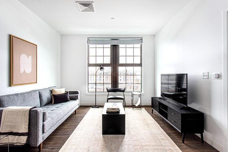 1 bedroom furnished apartment in Trio Newton, 845 Washington St 353, Newton, Boston, photo 1