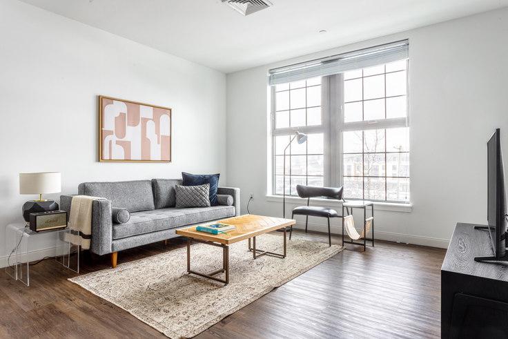 1 bedroom furnished apartment in Trio Newton, 845 Washington St 354, Newton, Boston, photo 1