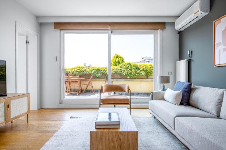 2 bedroom furnished apartment in Göksu Apartmanı - 617 617, Nişantaşı, Istanbul, photo 1