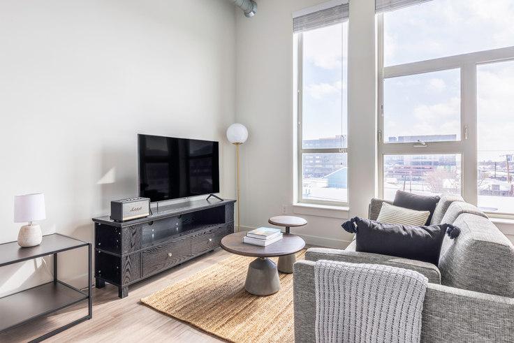 Studio furnished apartment in Ride at RiNo, 3609 Wynkoop St 10, RiNo, Denver, photo 1
