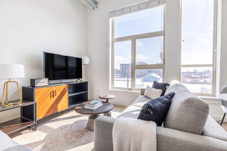 Studio furnished apartment in Ride at RiNo, 3609 Wynkoop St 11, RiNo, Denver, photo 1