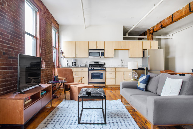Studio furnished apartment in Piano Craft Guild, 791 Tremont St 357, South End, Boston, photo 1