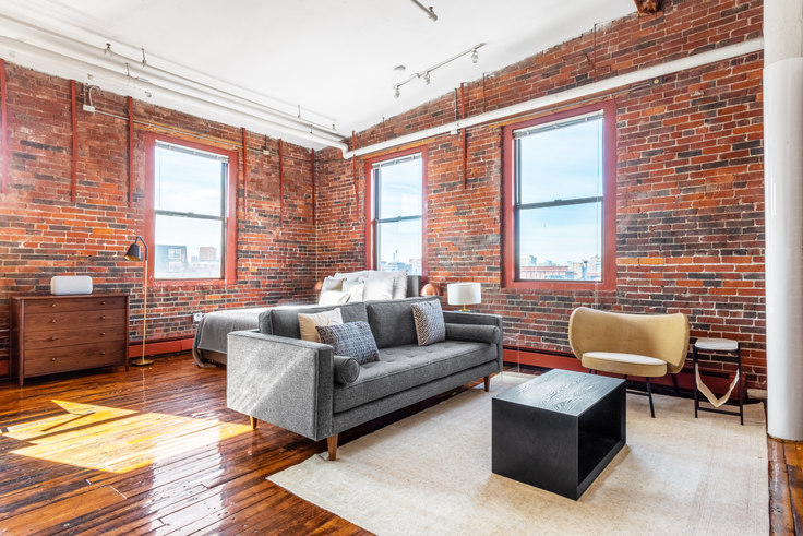 Studio furnished apartment in Piano Craft Guild, 791 Tremont St 360, South End, Boston, photo 1