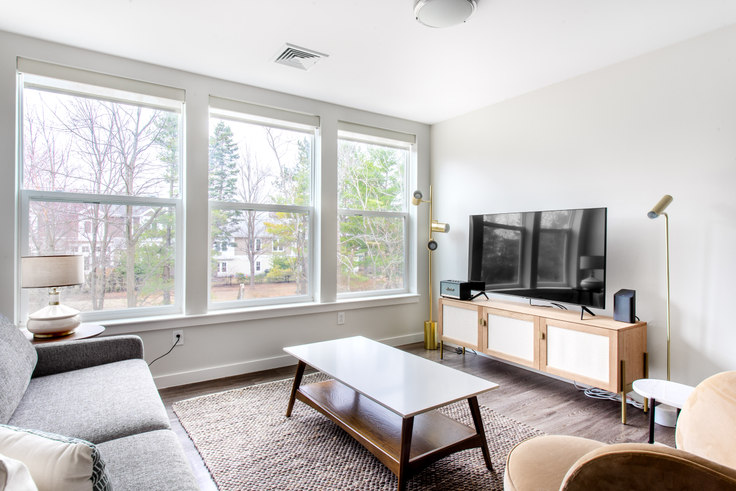 2 bedroom furnished apartment in Linea Cambridge, 1 Whittemore Ave 362, Alewife, Boston, photo 1