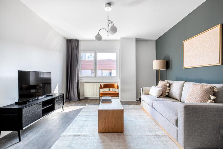 1 bedroom furnished apartment in Kemerlife XXI Sitesi - 622 622, Göktürk, Istanbul, photo 1