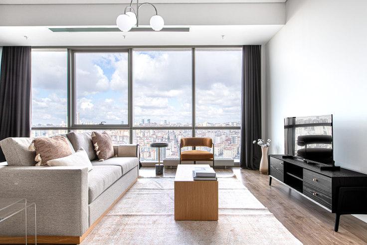 2 bedroom furnished apartment in Metropol - 623 623, Batı Ataşehir, Istanbul, photo 1