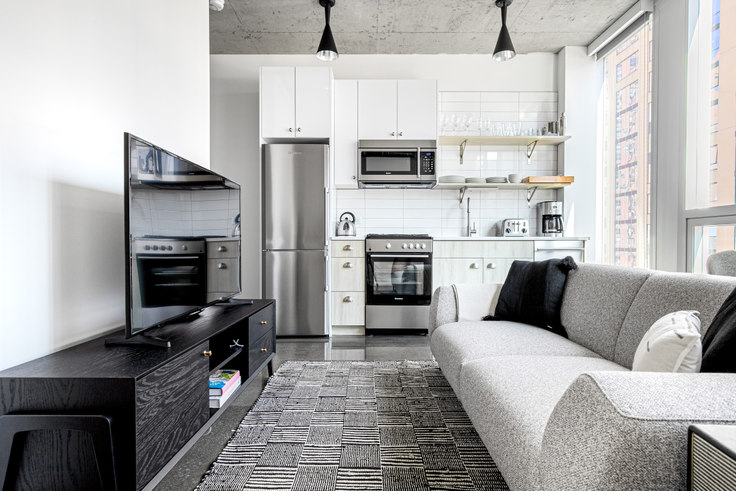 1 bedroom furnished apartment in Bush Temple, 108 W Chicago Ave 361, River North, Chicago, photo 1