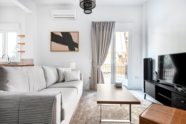 1 bedroom furnished apartment in Ippodamou 983, Pangrati, Athens, photo 1