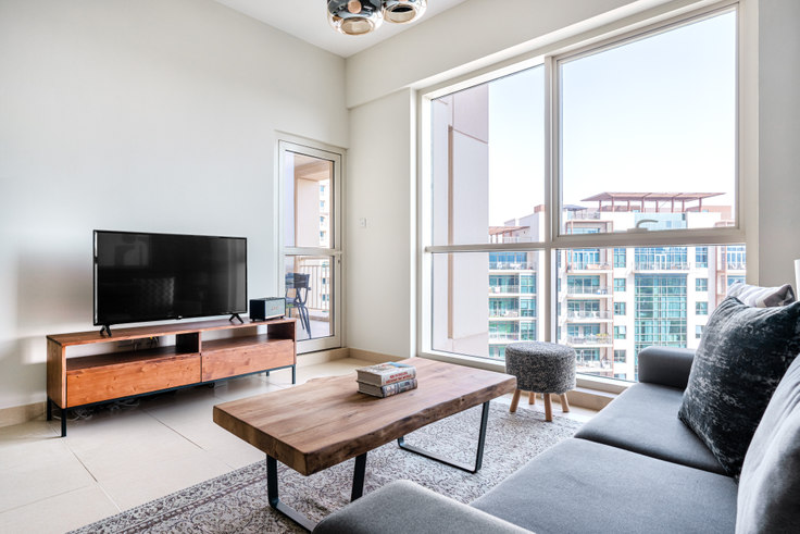 1 bedroom furnished apartment in Tanaro Apartment 718, Tanaro Tower, Dubai, photo 1