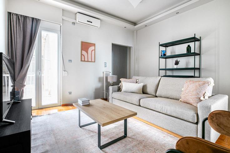 2 bedroom furnished apartment in Ravine II 985, Kolonaki, Athens, photo 1