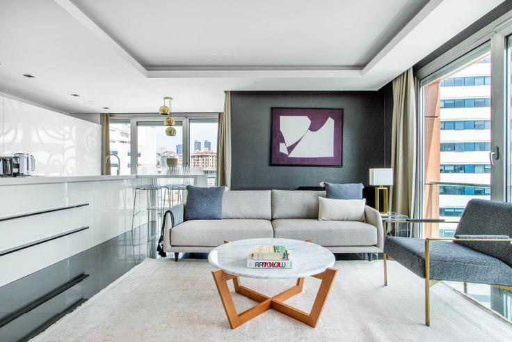 2 bedroom furnished apartment in Terrace Fulya - 629 629, Fulya, Istanbul, photo 1