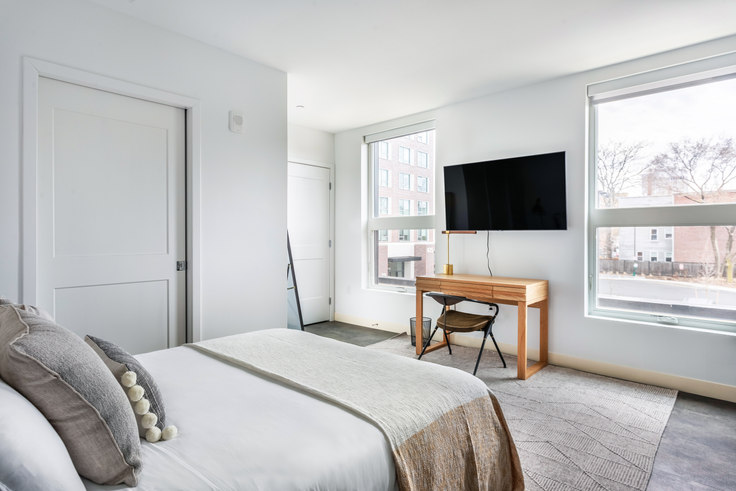 Studio furnished apartment in 5 Columbia St 368, Central Square, Boston, photo 1