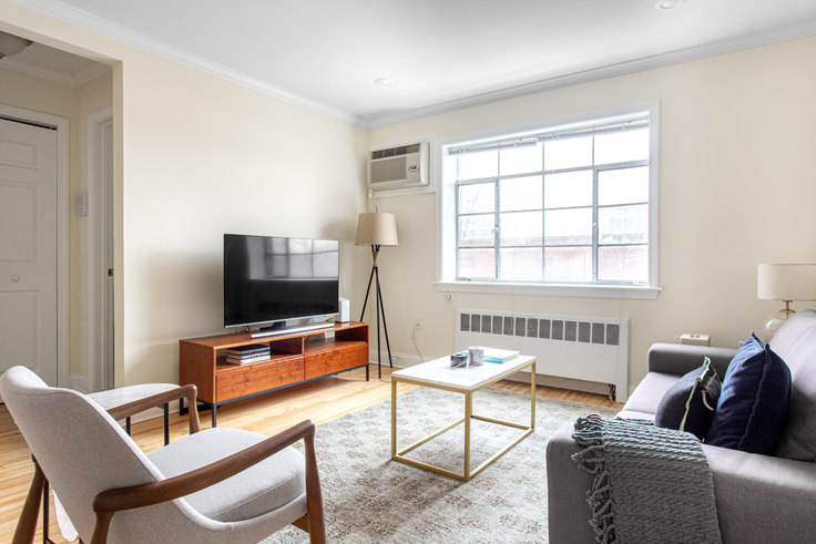 1 bedroom furnished apartment in 76 St Paul St 381, Brookline, Boston, photo 1