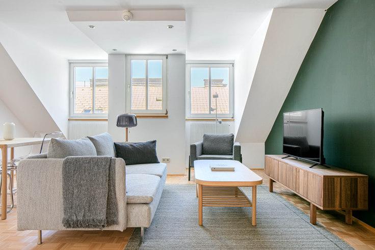 1 bedroom furnished apartment in Schelleingasse 50 2, 4th district - Wieden, Vienna, photo 1