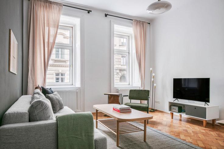1 bedroom furnished apartment in Fasangasse 50 3, 3rd district - Landstraße, Vienna, photo 1