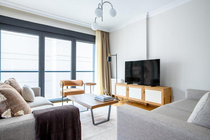 3 bedroom furnished apartment in Gülemer Apartmanı - 636 636, Bostanci, Istanbul, photo 1