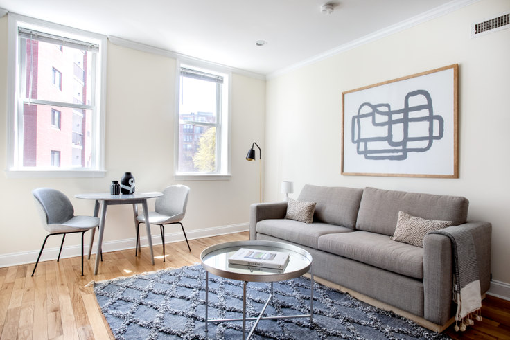 2 bedroom furnished apartment in 1 Chauncy St 385, Harvard Square, Boston, photo 1