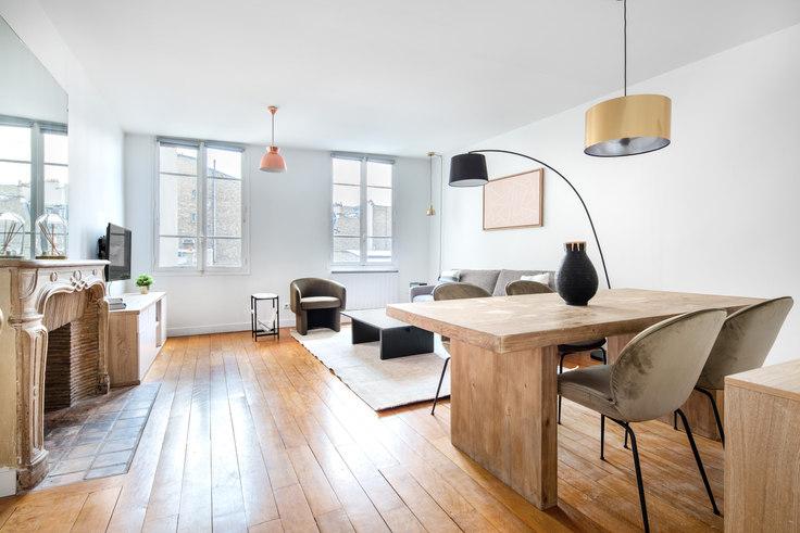 1 bedroom furnished apartment in Rue des Fossés Saint-Jacques 68, Quartier Latin, Paris, photo 1