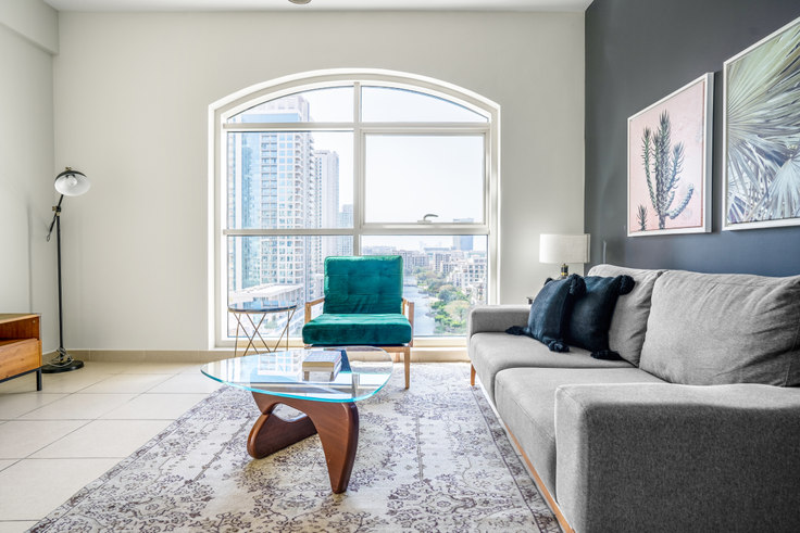 2 bedroom furnished apartment in Mosela Apartment IV 724, Mosela Tower, Dubai, photo 1
