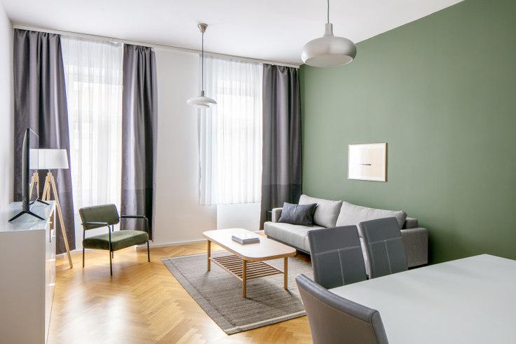 1 bedroom furnished apartment in Lassallestraße 25 5, 2nd district - Leopoldstadt, Vienna, photo 1