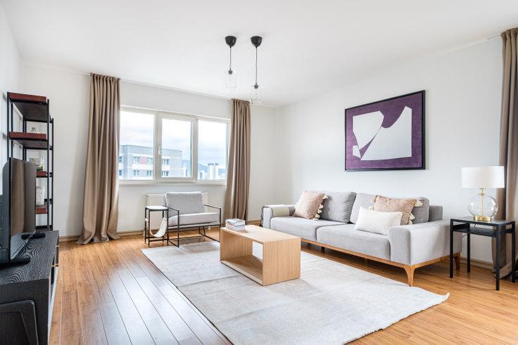 3 bedroom furnished apartment in Ağaoğlu Highpark - 637 637, Batı Ataşehir, Istanbul, photo 1